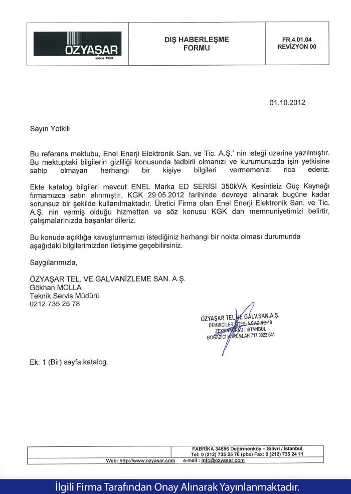 Özyaşar Tel. & Galvenizleme
